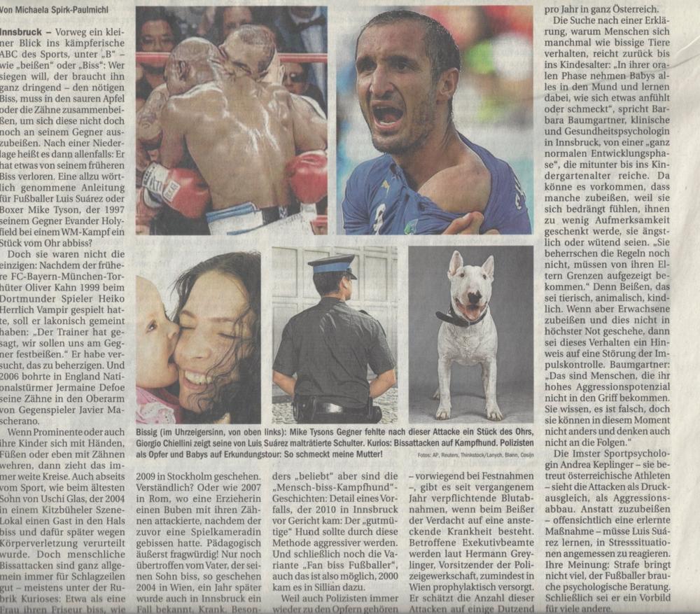 Tiroler Tageszeitung Nummer 174 -27 Juni 2014