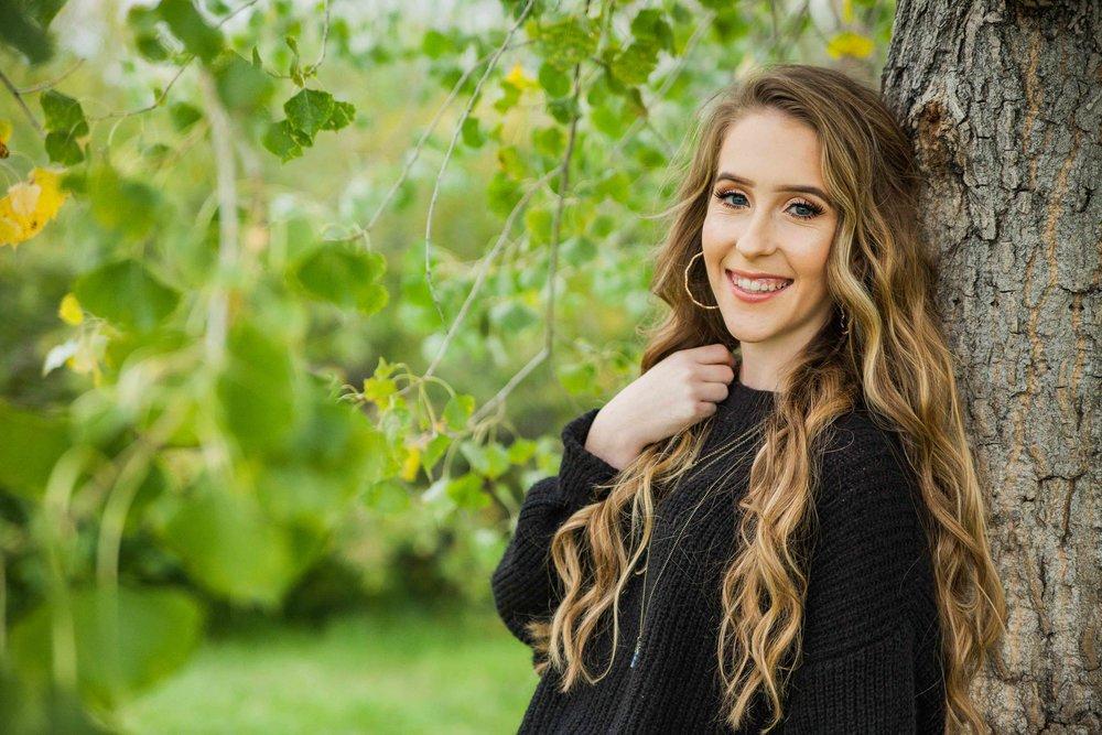 Senior Photo in Nature