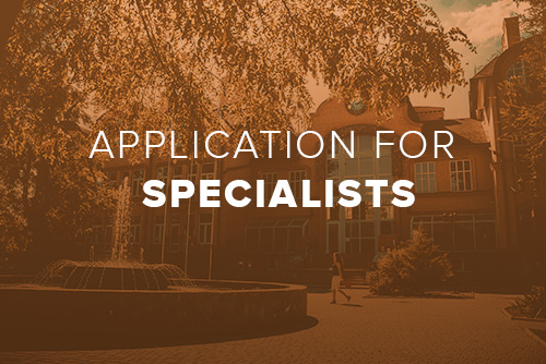 Prospective Specialists must click on the above photo to access the online application portal. Before applying, please review the online application instructions for Specialist Candidates.