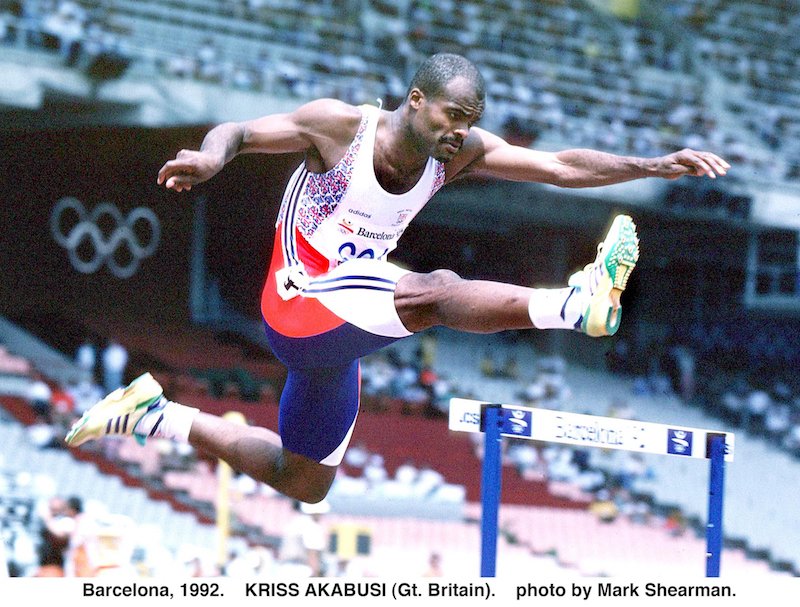 Barcelona Olympics 1992. Image Credit: Mark Shearman- Athletics Images.