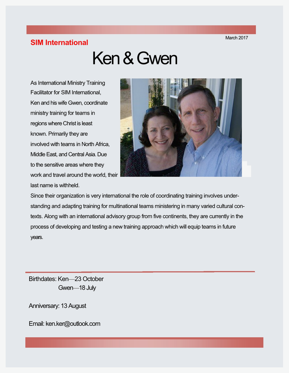 Ken and Gwen