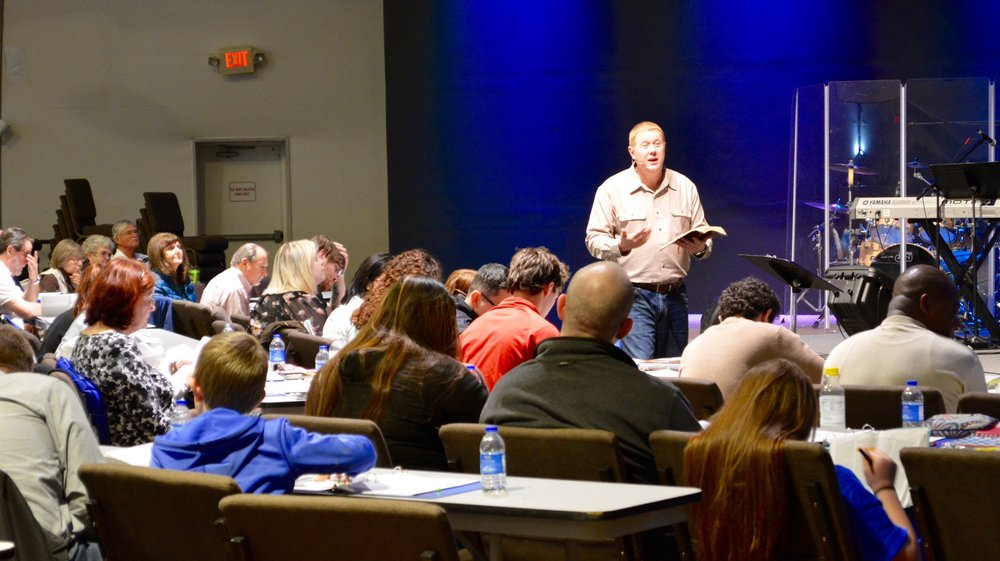 DISCIPLESHIP CLASSESSATURDAY OCTOBER 20 | 9:00AM-4:00PMARROWOOD CAMPUS -
