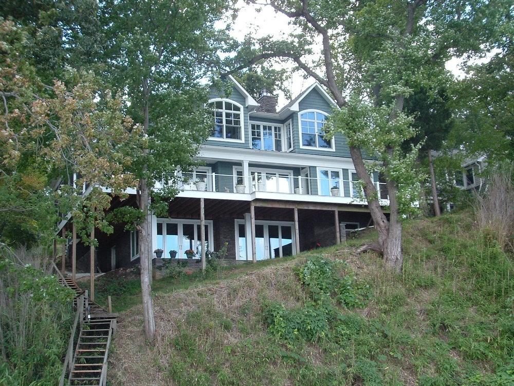 Edgewater Drive Residence - Back