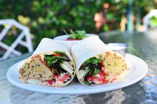 Falafel Wrap.