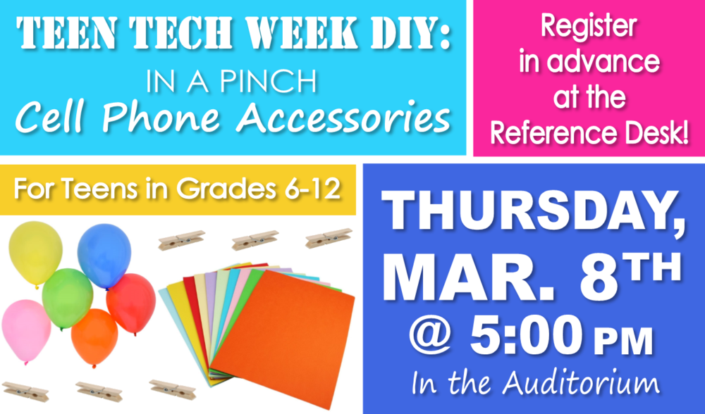 Learn how to make a stand out of paper, turn a clothes pin into a cord wrapper, and create a case from a balloon!