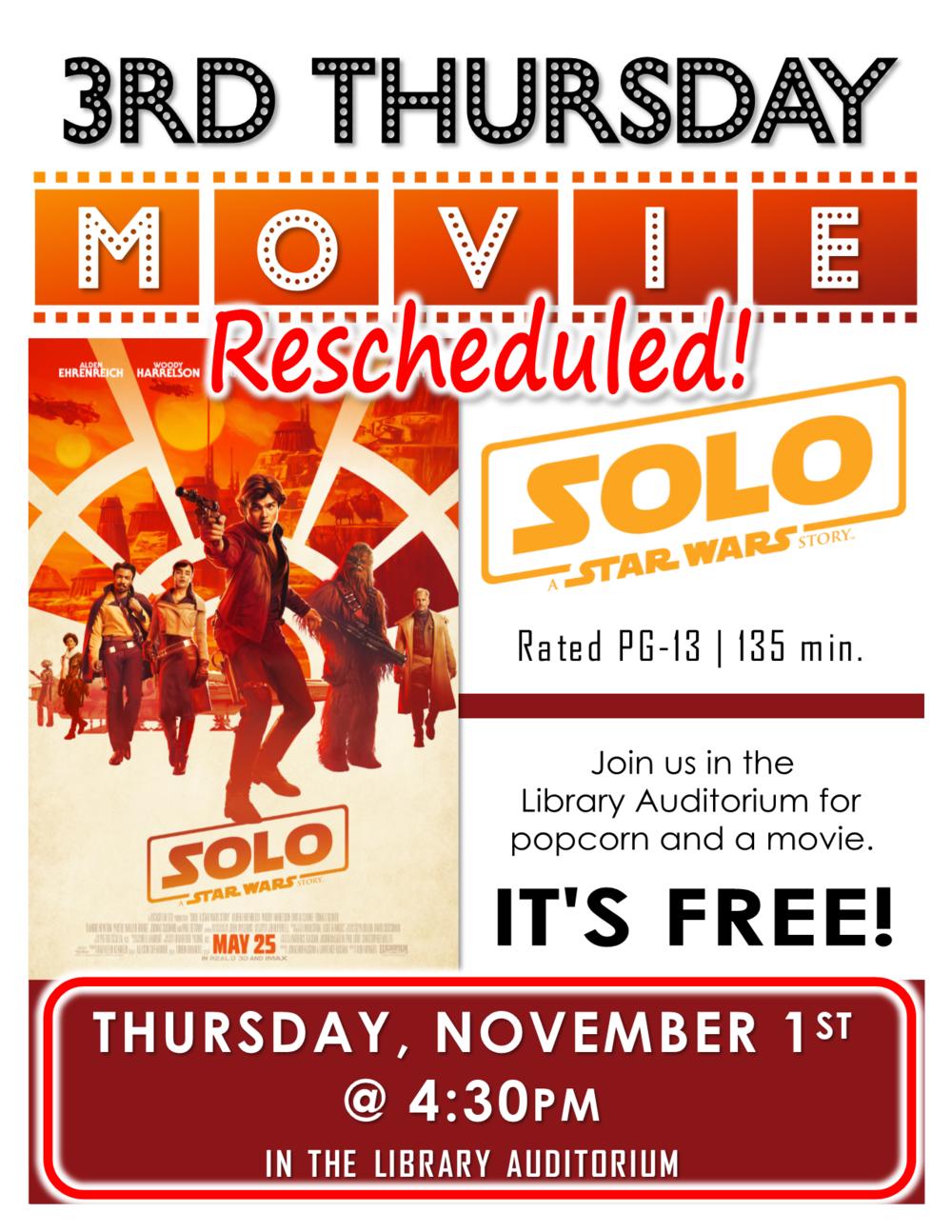 3rd thursday movie rescheduled ocrl org