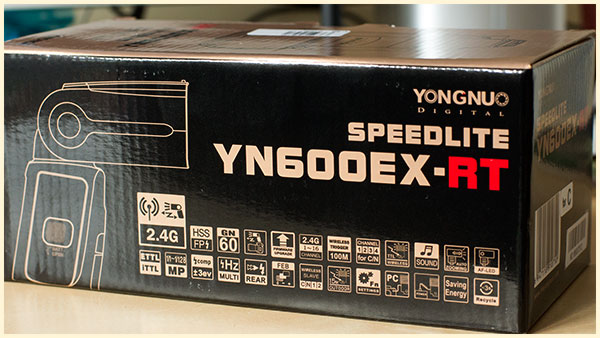 Yongnuo YN600EX-RT Retail Box