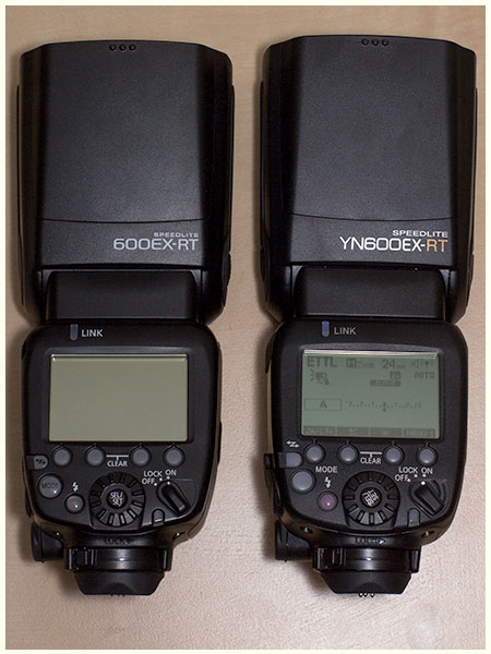 Canon 600EX-RT vs YN600EX-RT