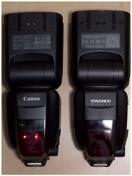 YN600EX-RT vs Canon 600EX-RT