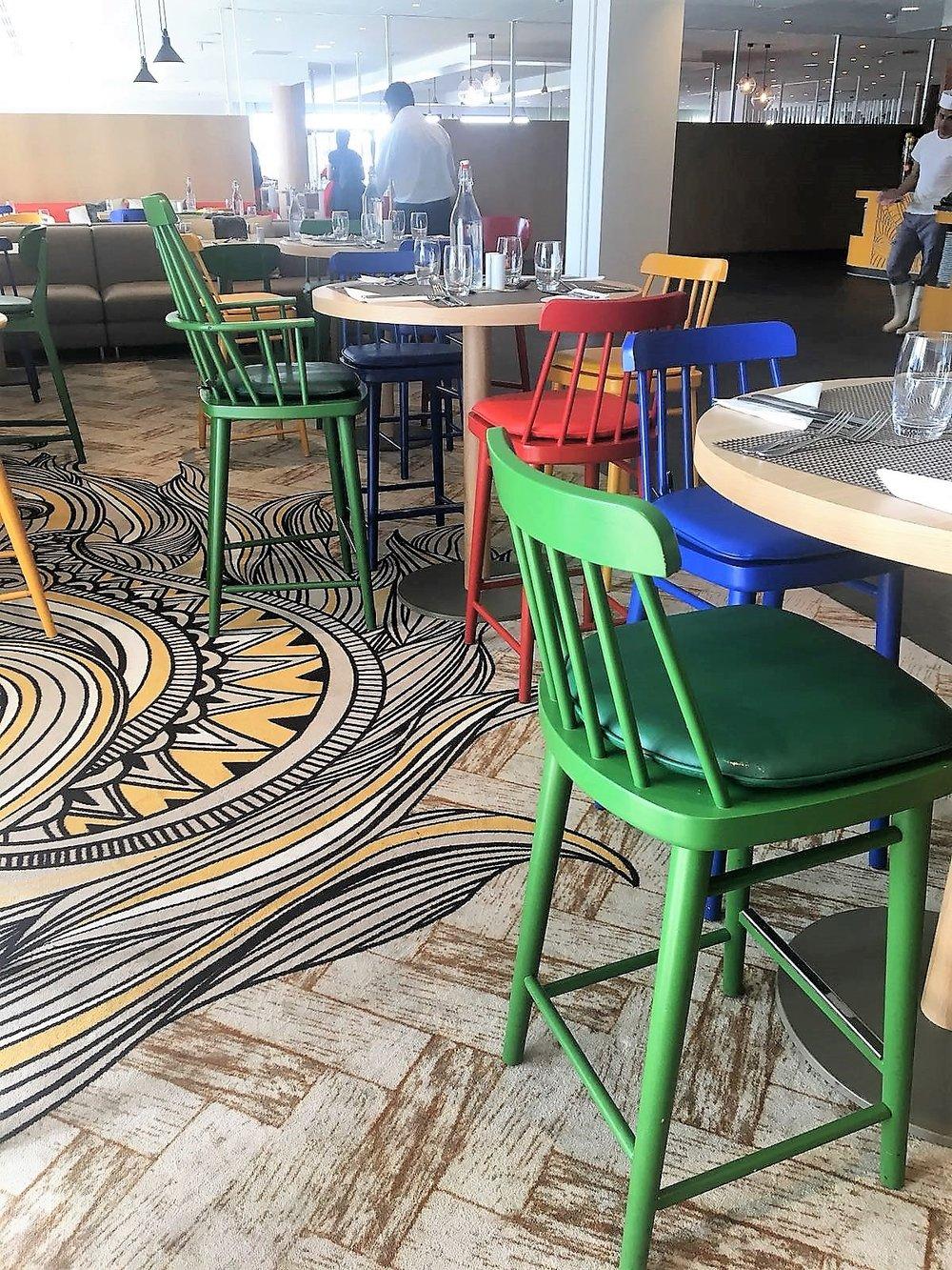 Club Med Samoens_détail moquette Restaurant jaune_9ec.JPG