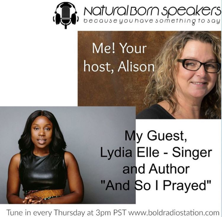 The  - Here Lydia's story as she is a guest on Natural born Speakers with Alison.   She discusses her secrets for speaking (all from memory) and why she believes in the importance of an authentic story.Have Lydia on your show.