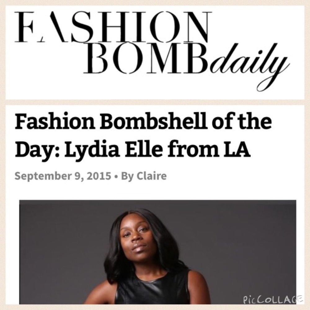 Fashion and Faith - During the pre-release of her book, Lydia shined as the bombshell of the day for FashionBombDaily.  See the full piece.For press and media inquiries contact Lydia's team.