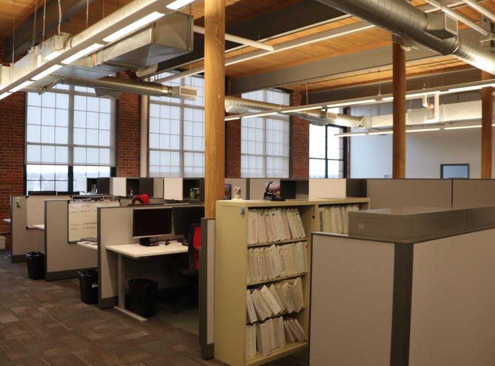 A look inside FlowServe's unique office space.