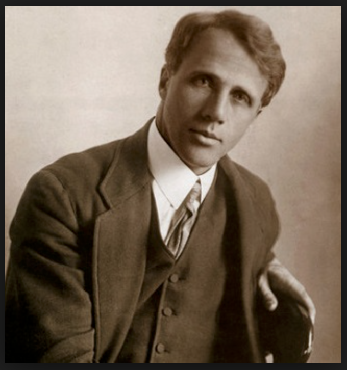 Poet and Author, Robert Frost
