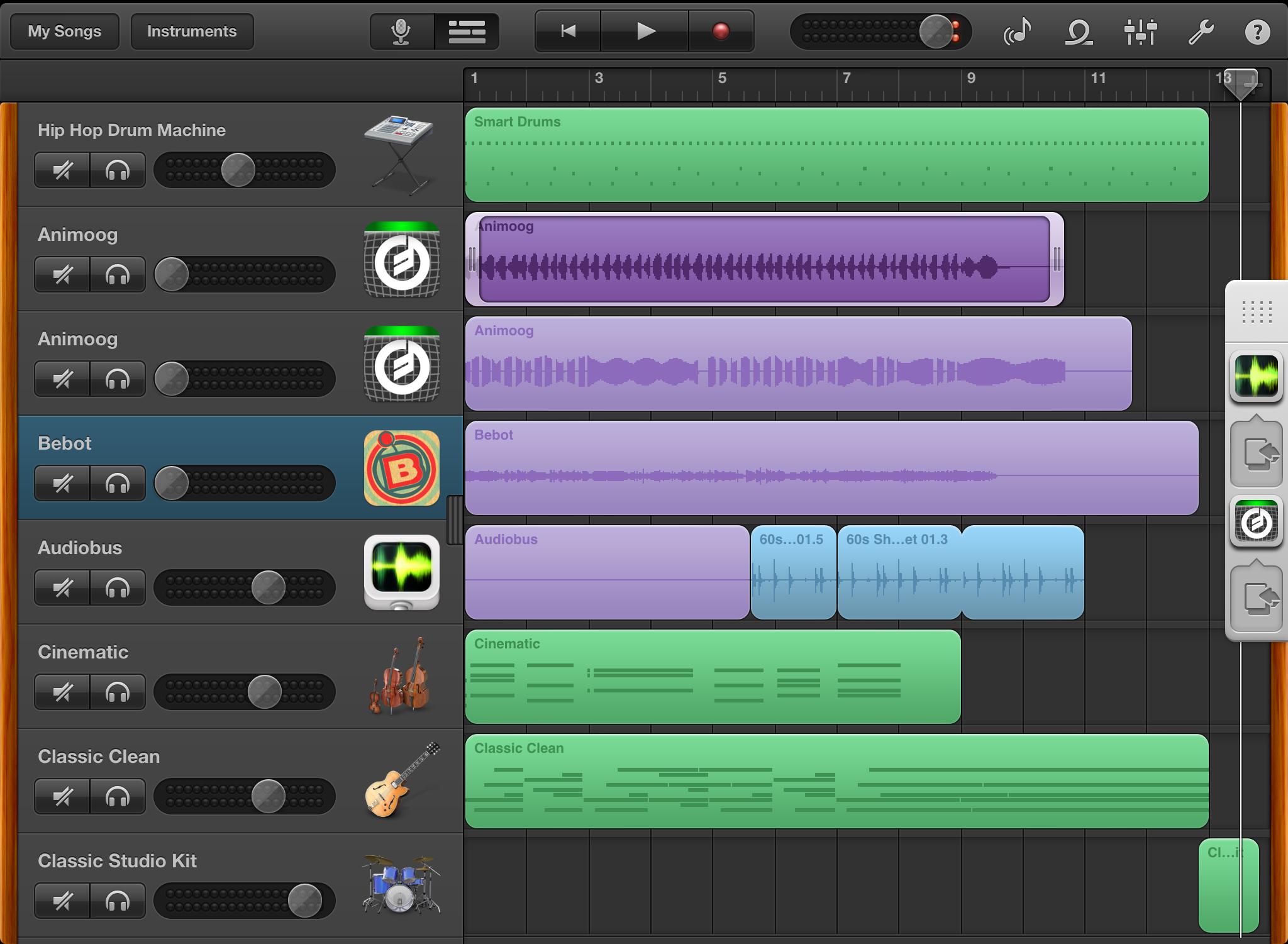 Garageband App — SoundLab