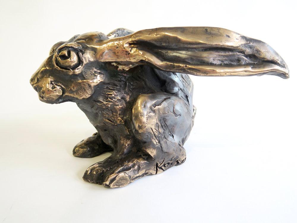 Mad Scared Hare Kaisa Kangro 2016 bronze