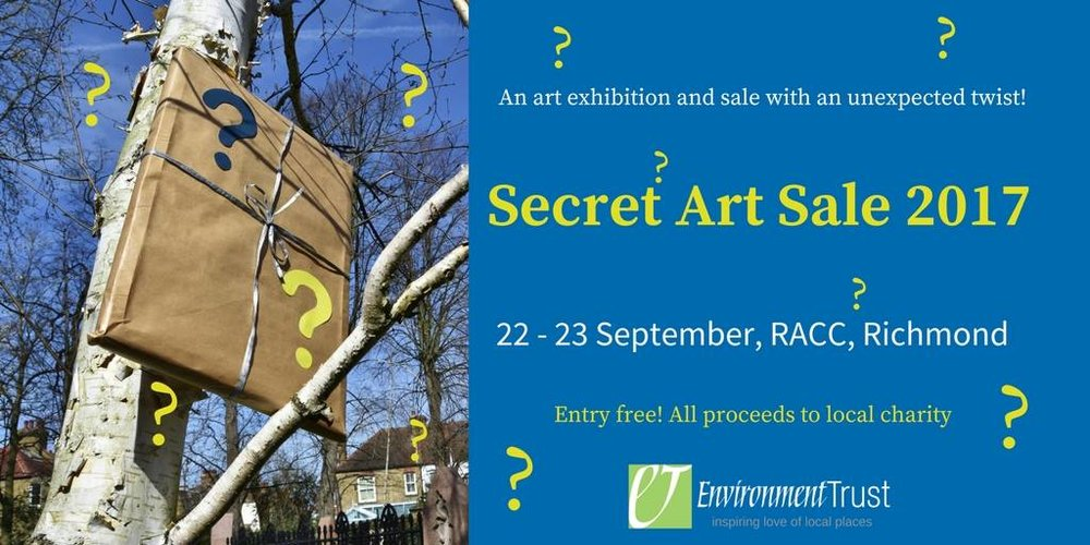 SecSecret Art Sale 2017. 22-23 September, RACC, Richmond