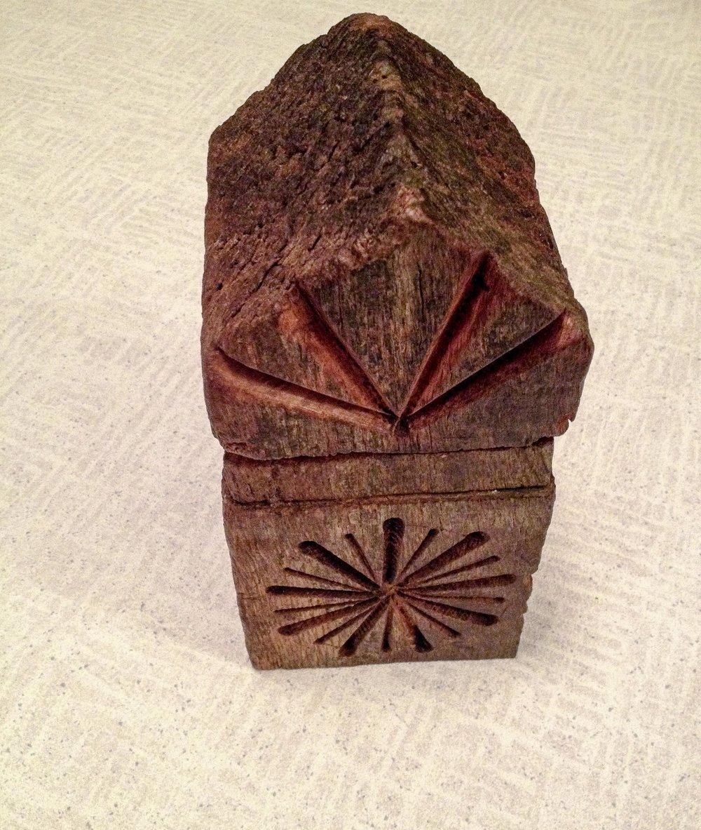 Brown Oak Box