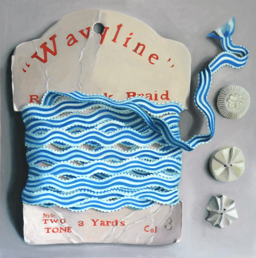 Blue Wavyline