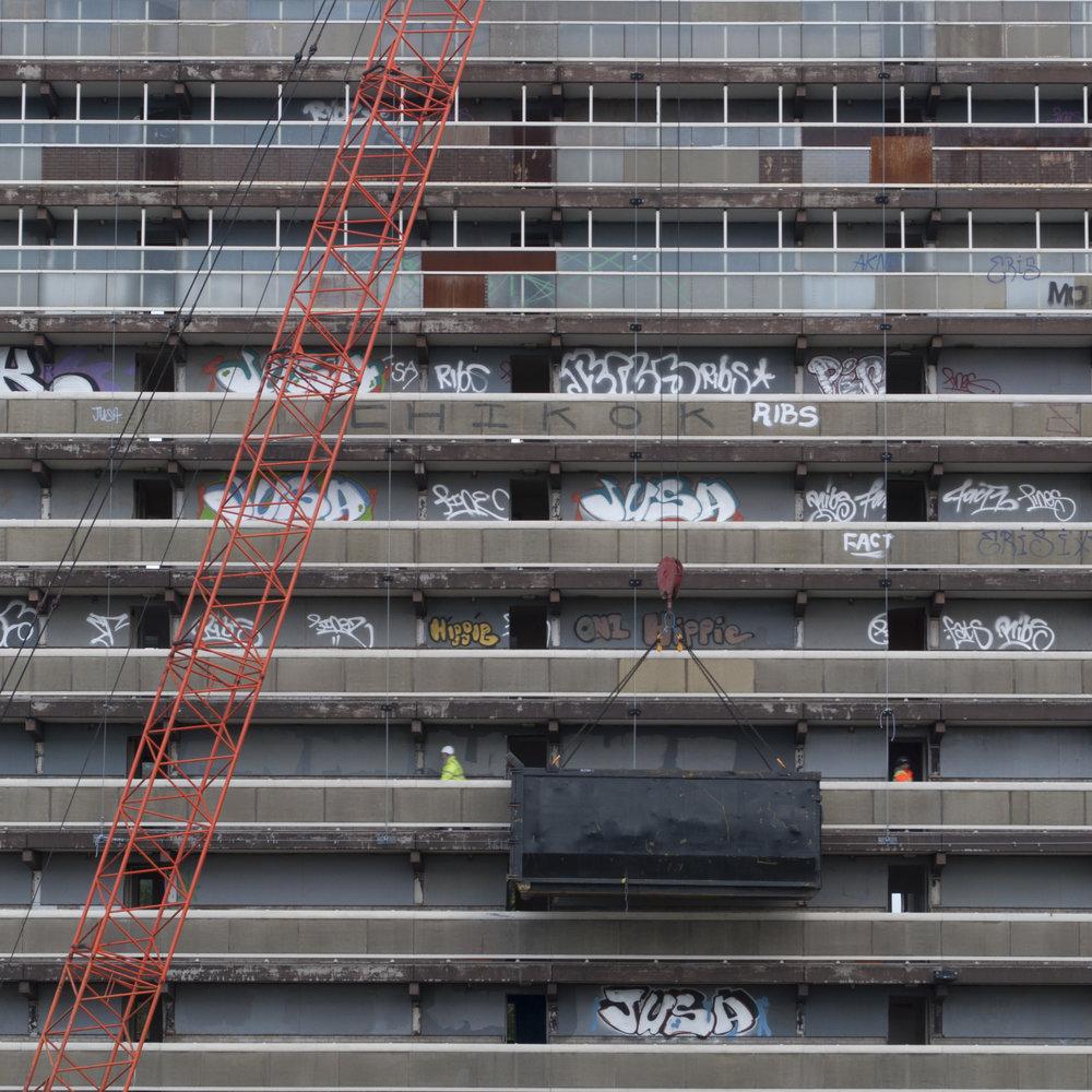 Heygate Demolition