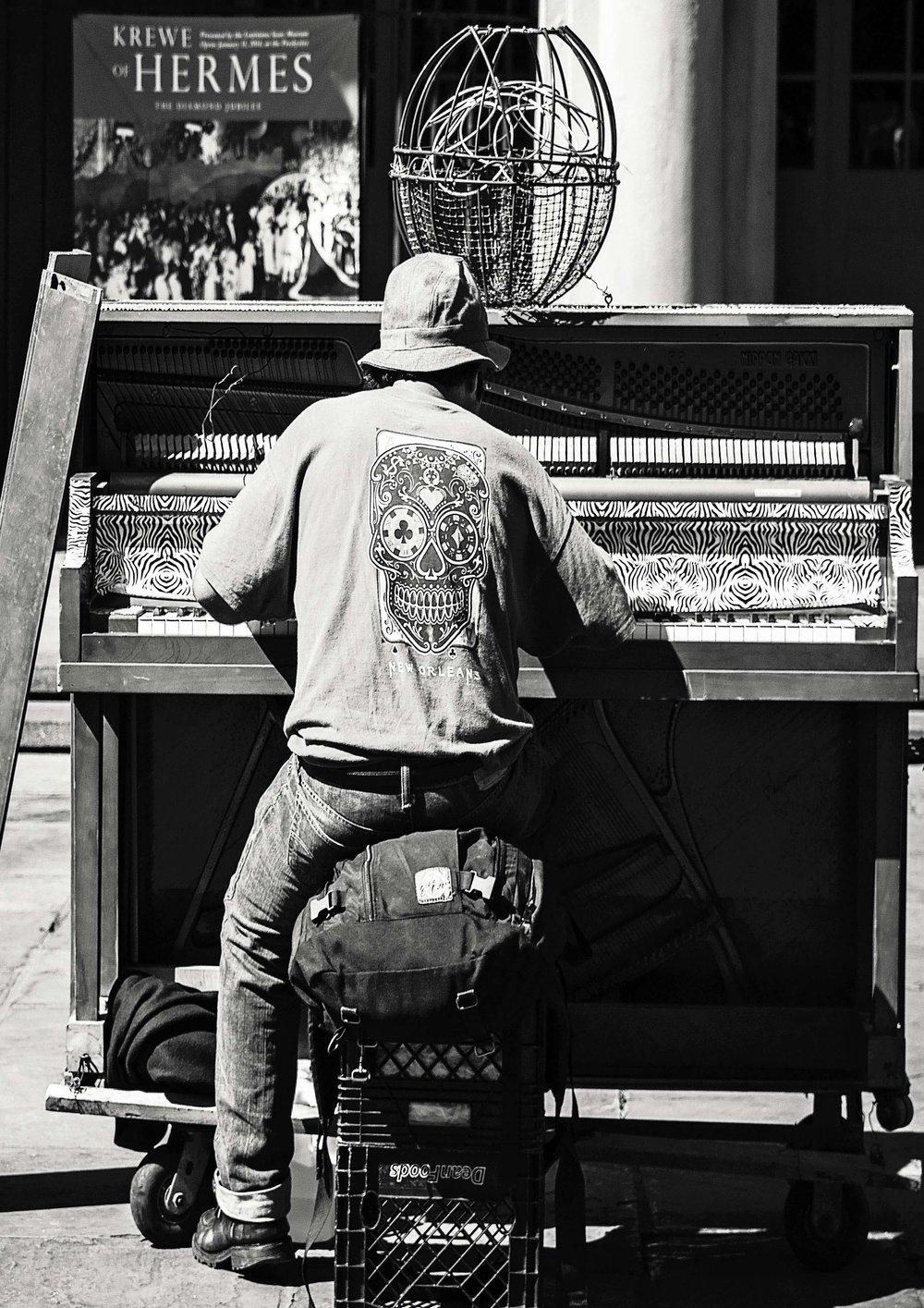 Street Musician, New Orleans