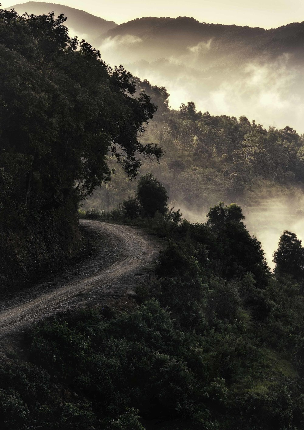 Road to Bandipur