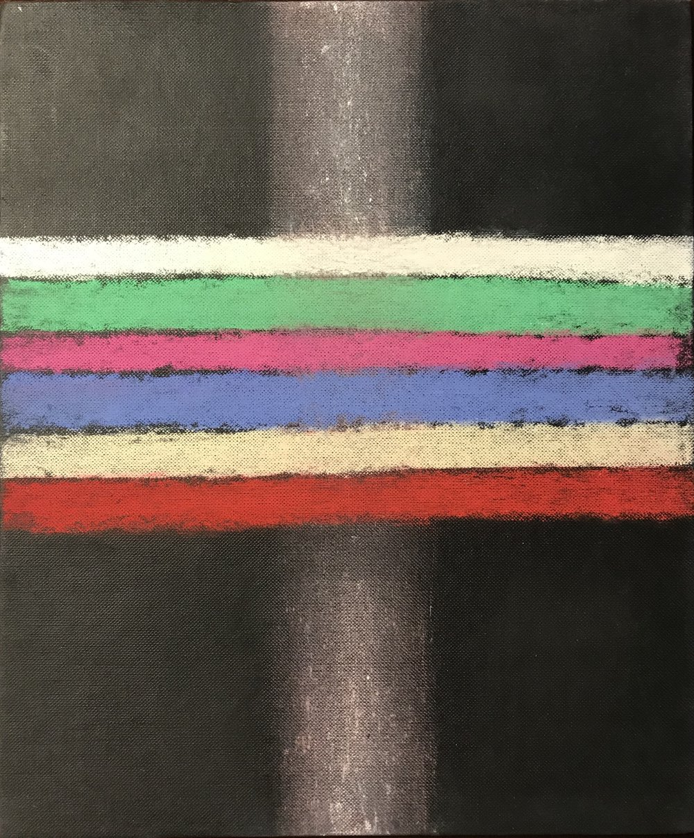 'My Childhood's Favourite Colours & Vertical White Tube'