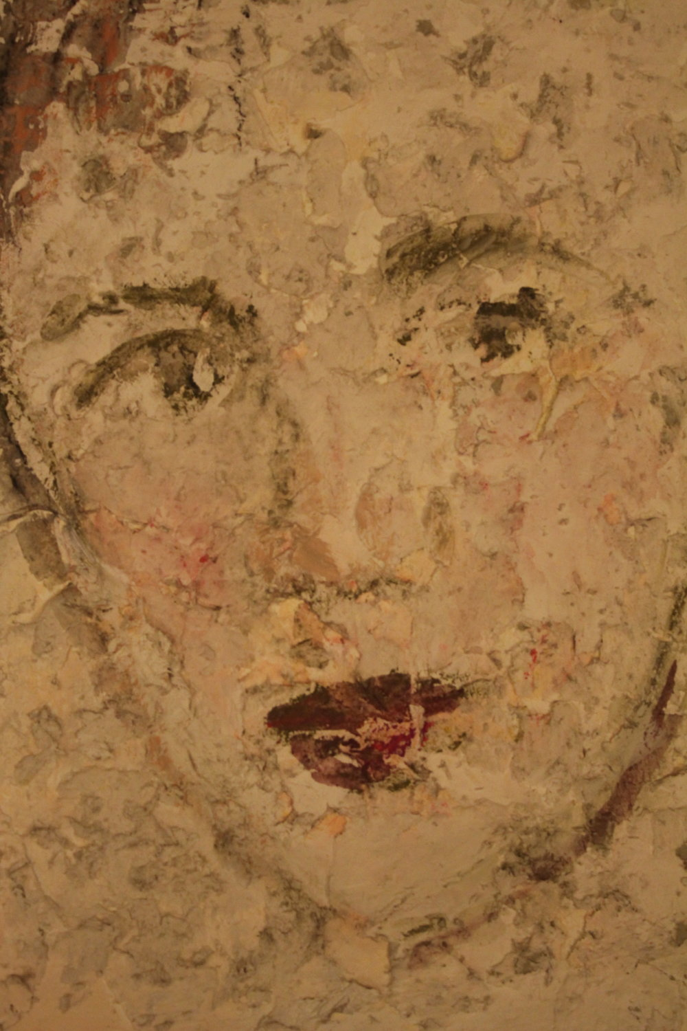 If This Wall Could Talk (Unknown female face)