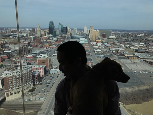 Top of the Sheraton Hotel, Kansas City