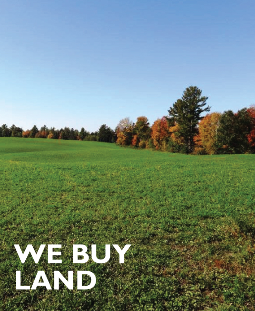 WE BUY LAND TOO