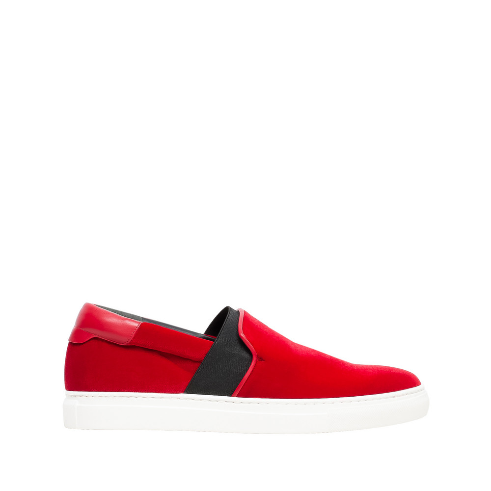 Red Leather Slip-on   Balenciaga   £355.00