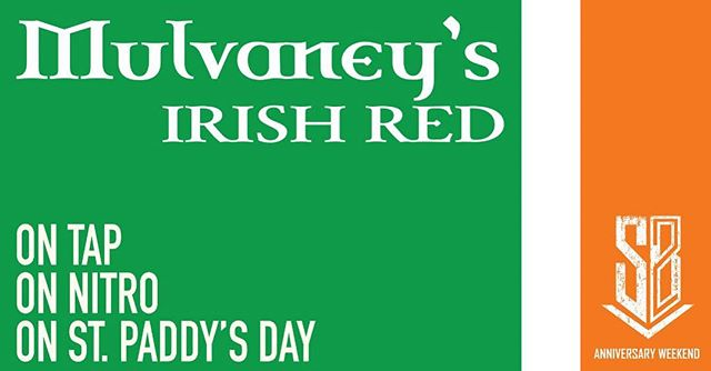 Happy St. Paddy's Day! Get your green on and get to SBB for the noon tapping of Mulvaney's Irish Red on nitro, $1 off Blue Bullet Stout, Irish fare from the kitchen, and The Gershom Brothers at 5:30pm. Sláinte! #BuiltToBrew #losranchosbrew #losranchos #nmbeer #nmdarksidebrewcrew