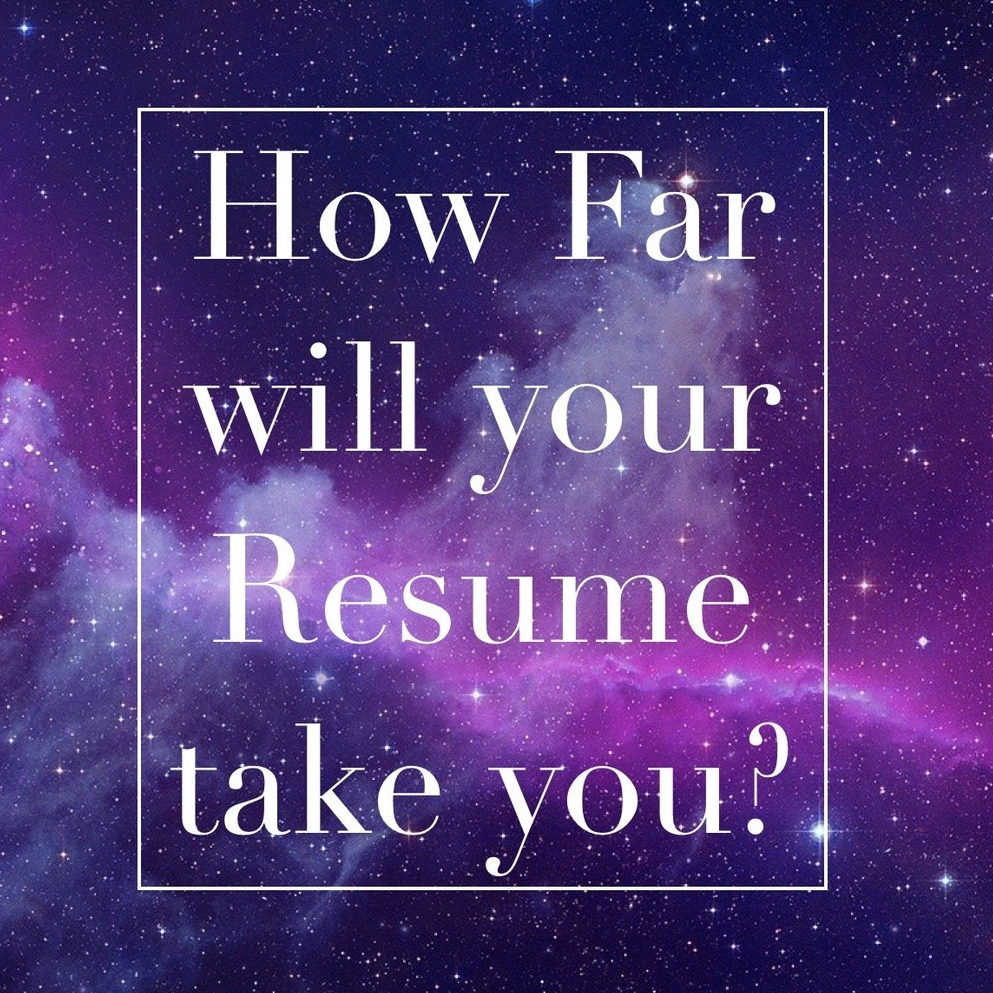What\'s On Your Resume? — Glow Galaxy Inc.