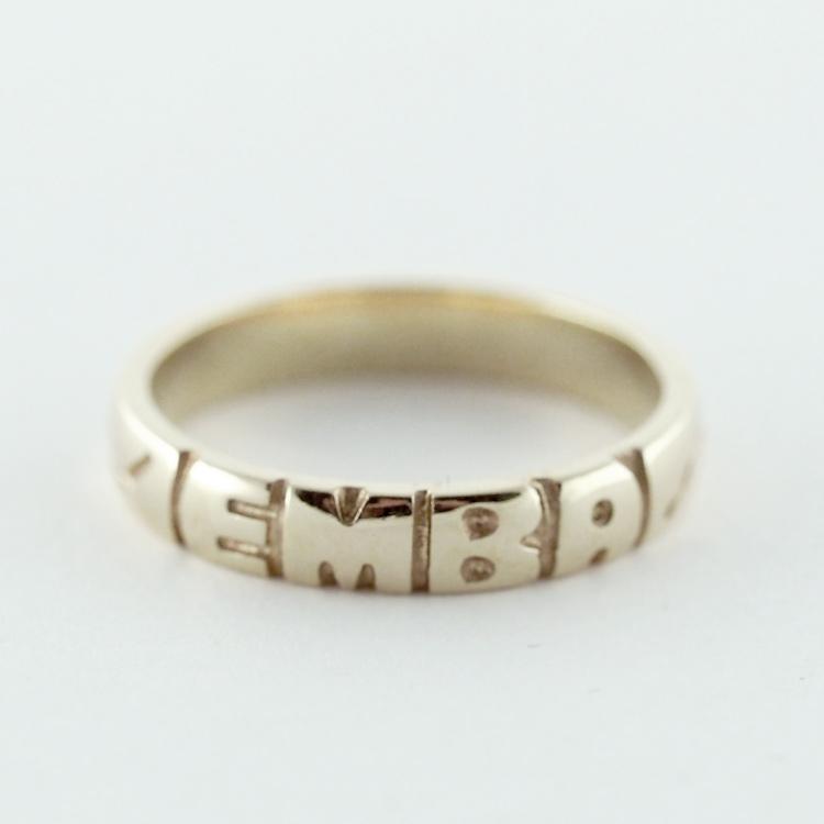 <b>Graduation Ring</b><br>Starting at $500<br>10K Yellow Gold