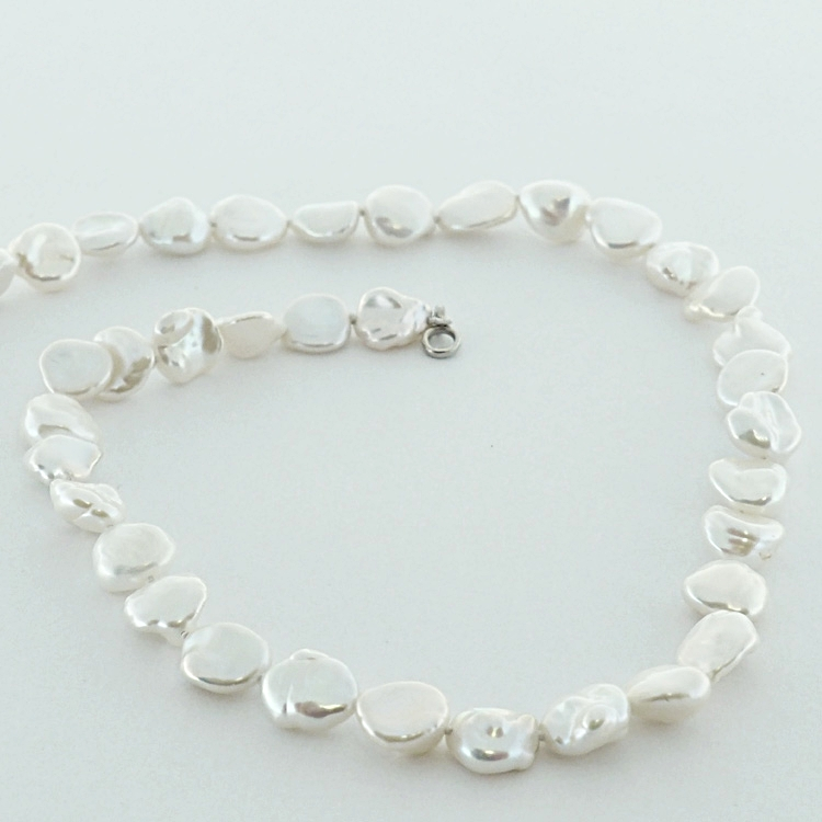 "<b>Keshii Pearls</b><Br>$786<Br>Fresh Water Pearls<br> ""Keshii type"""