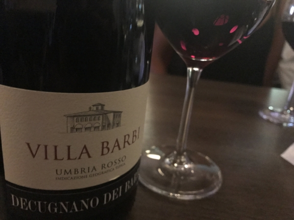 Villa Barbi Rosso  - blend of Sangiovese, Cabernet Sauvignon, and Merlot