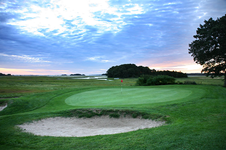 Cape Ann golf Club, Essex , MA - 7th Hole