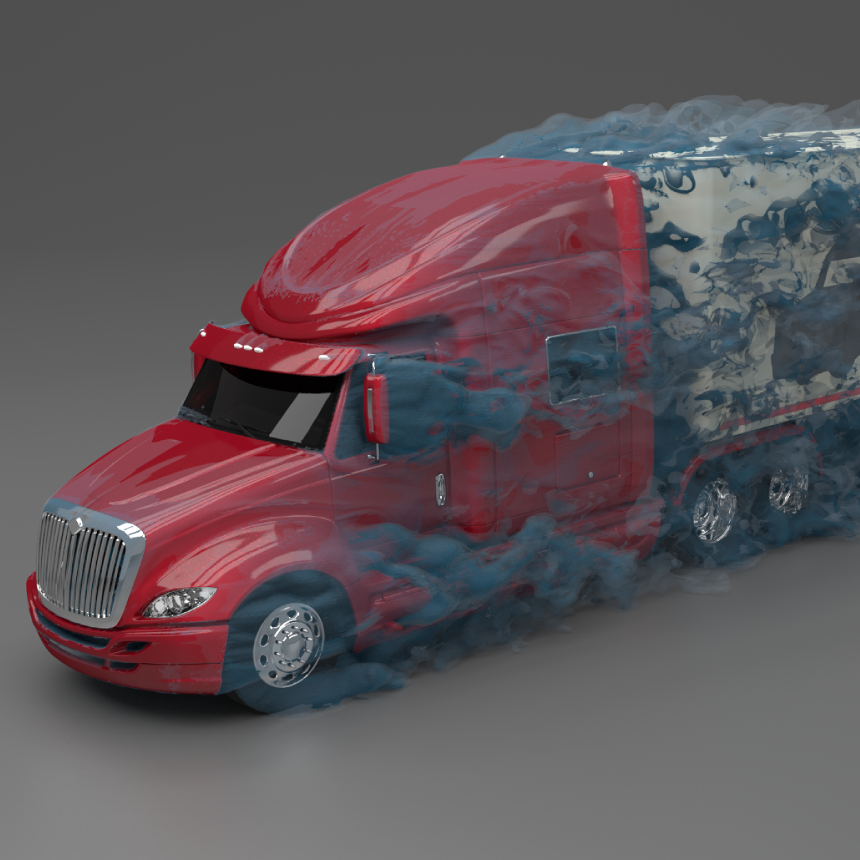 Truck CFD Airflow