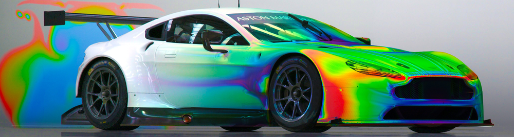Aston Martin Race Car CFD