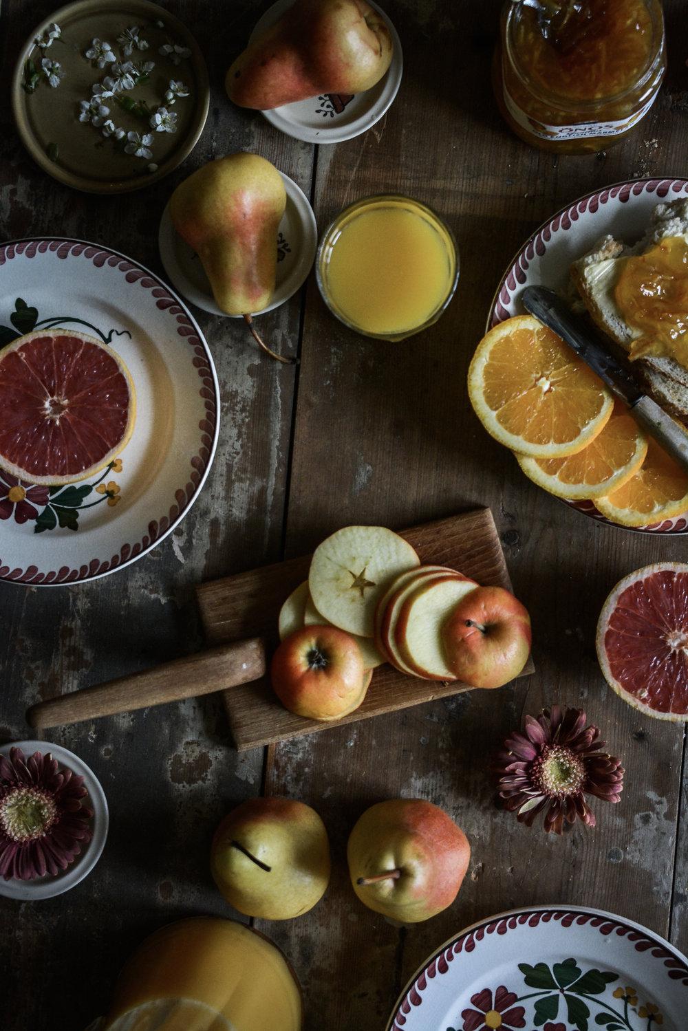 eple i skiver