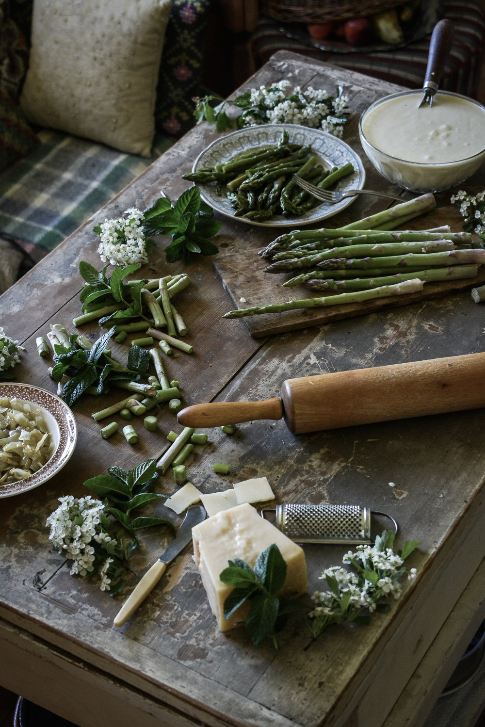asparges tart 2