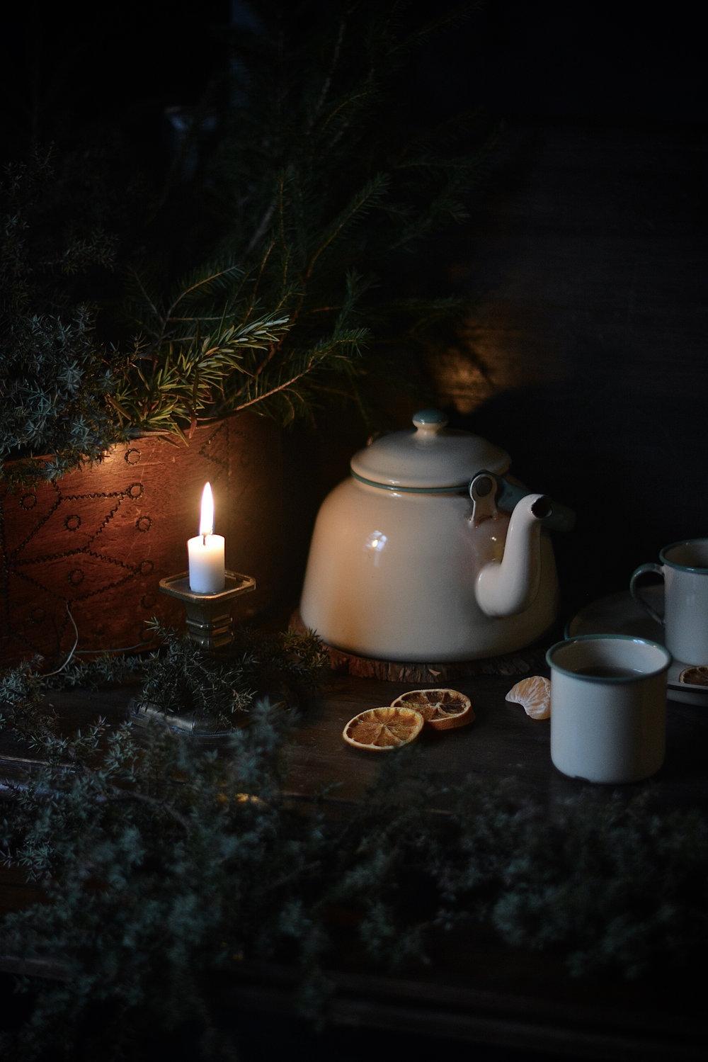 tea på loftet