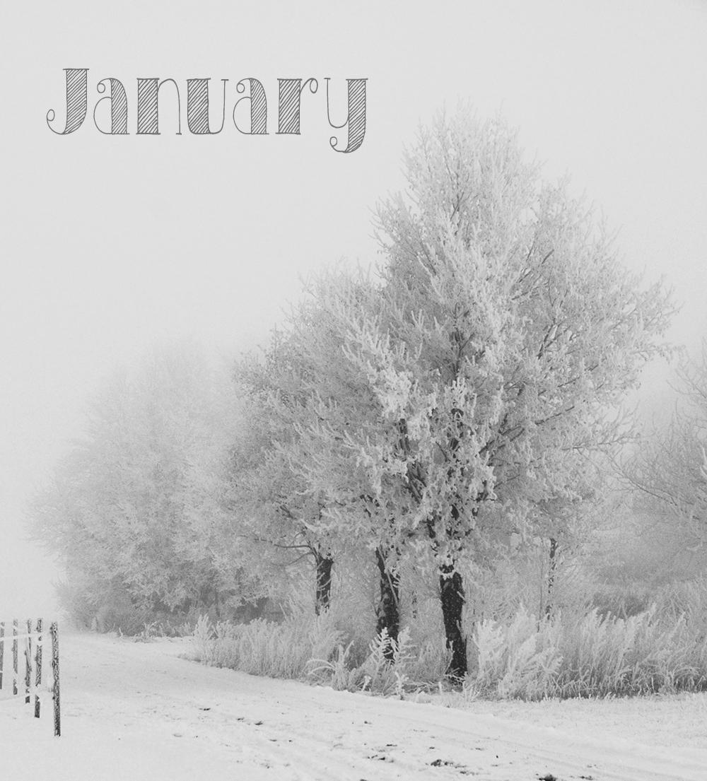 vinterbilde med tekst