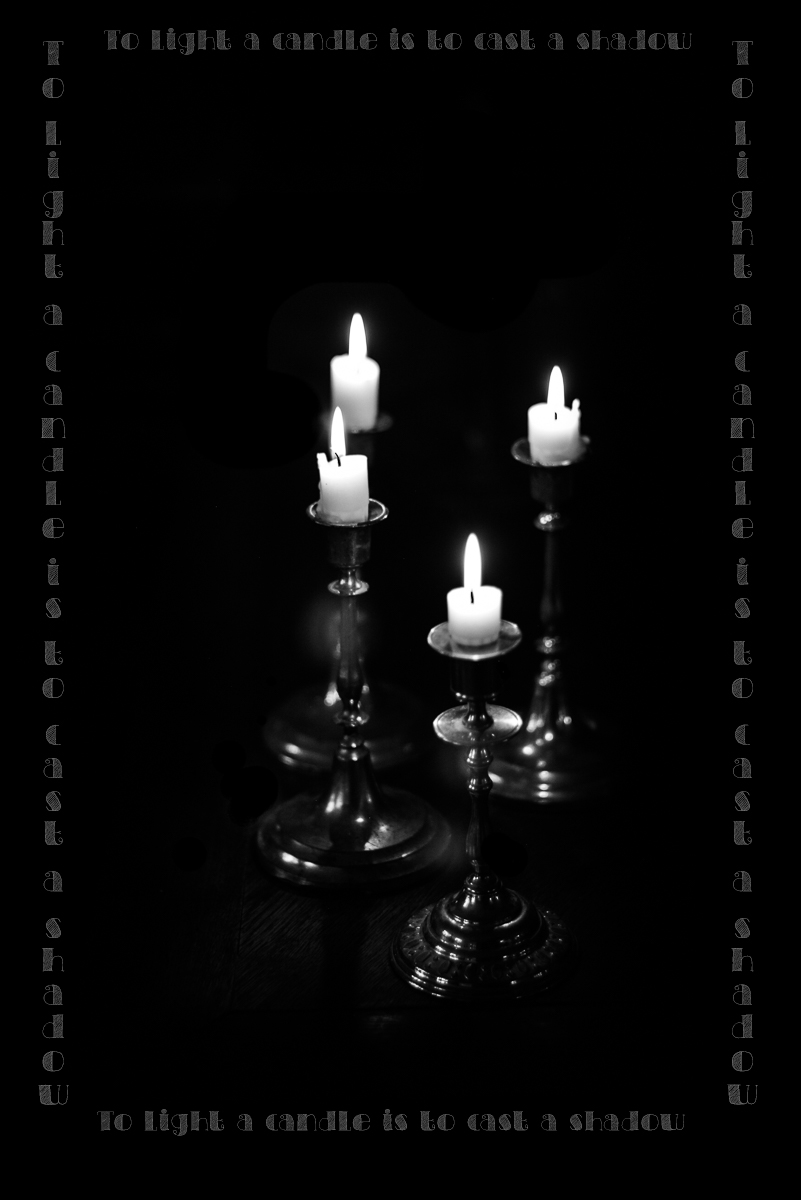 candlelight med tekst