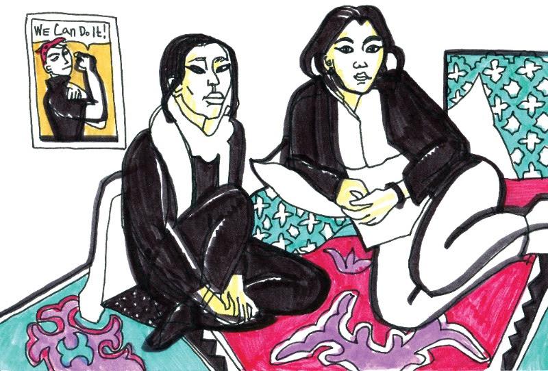 Victoria Lomasko: Unwanted Women