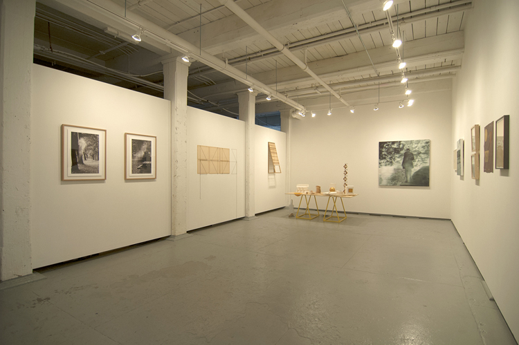 Installation view Imaginary Monuments