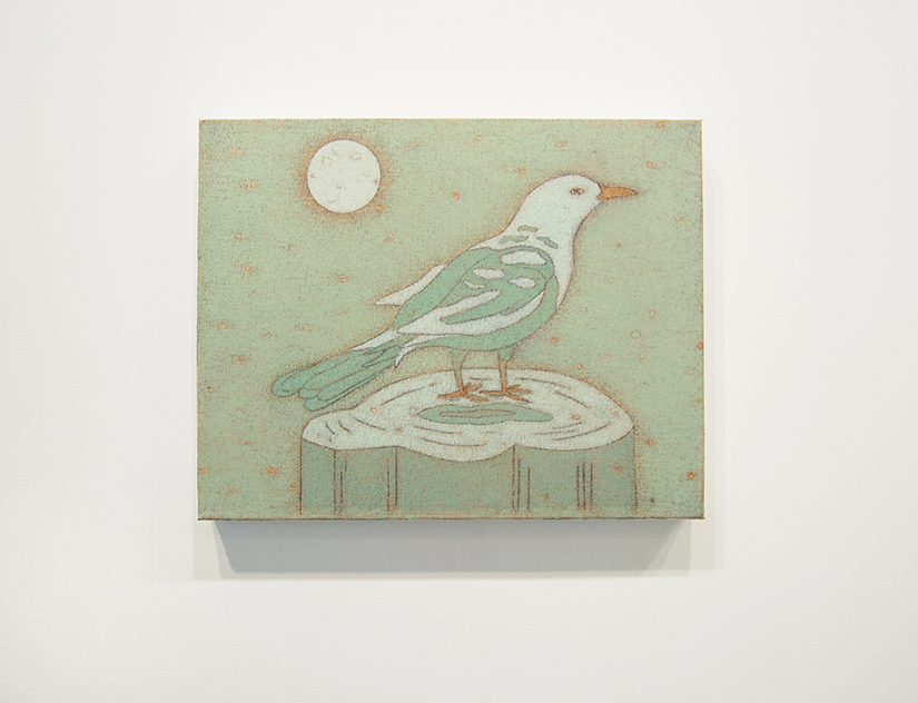 "JOHN DILG: Early Bird, 2014, oil on canvas, 11"" x 14"" Courtesy of Jeff Bailey Gallery"