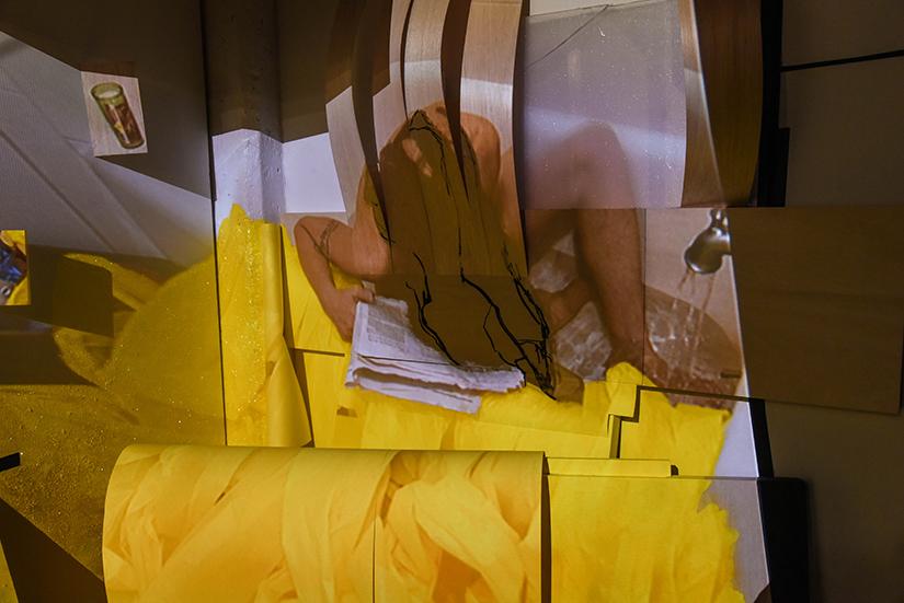 DANI LEVENTHAL: Love Letter, 2016. Detail.