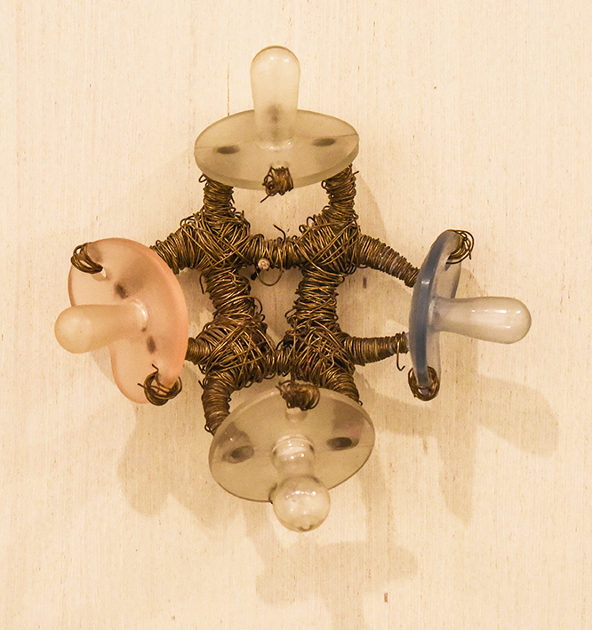 SUZANNE SILVER: Pacifier Fetish Piece, 1980.