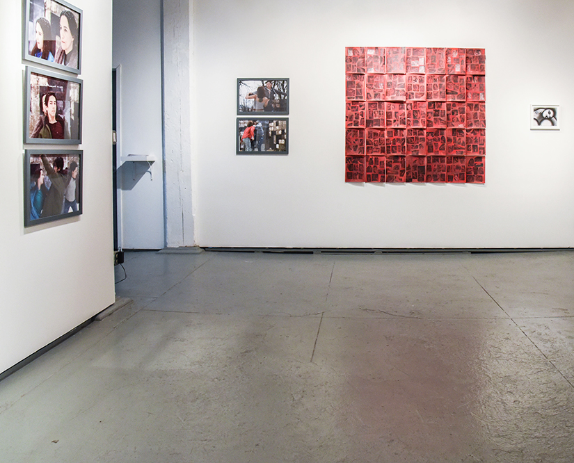 REPEAT PRESSURE UNTIL: Installation view